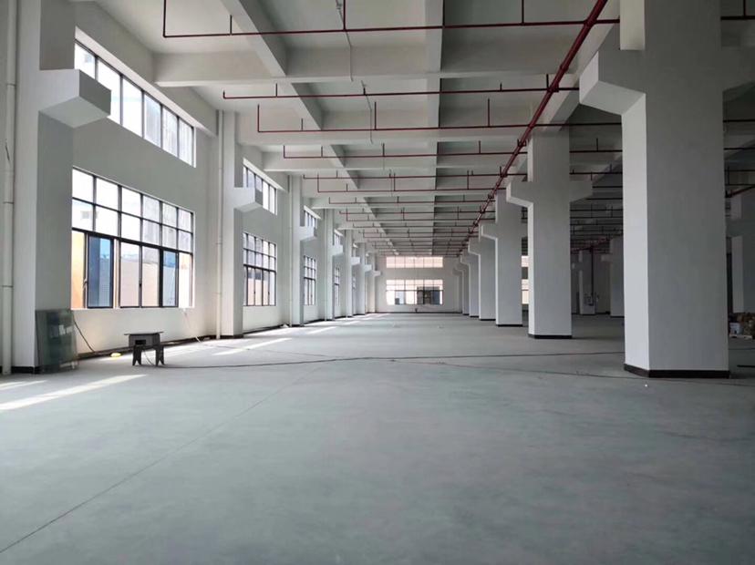 惠州工业园分租1楼1800平带牛角位精装修合同年限长