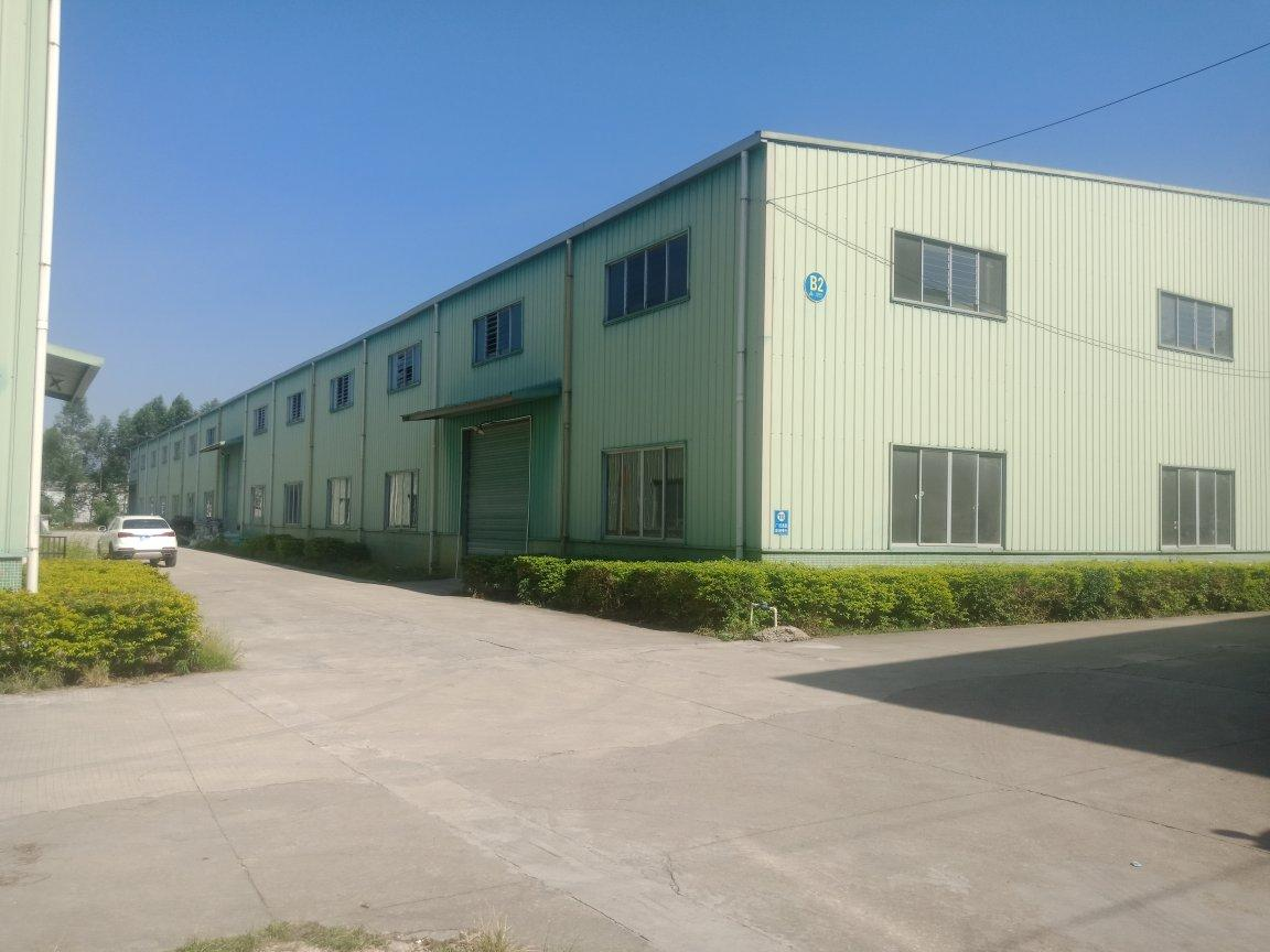 惠州市博罗县龙溪镇原房东工业园钢结构1500平方滴水9米
