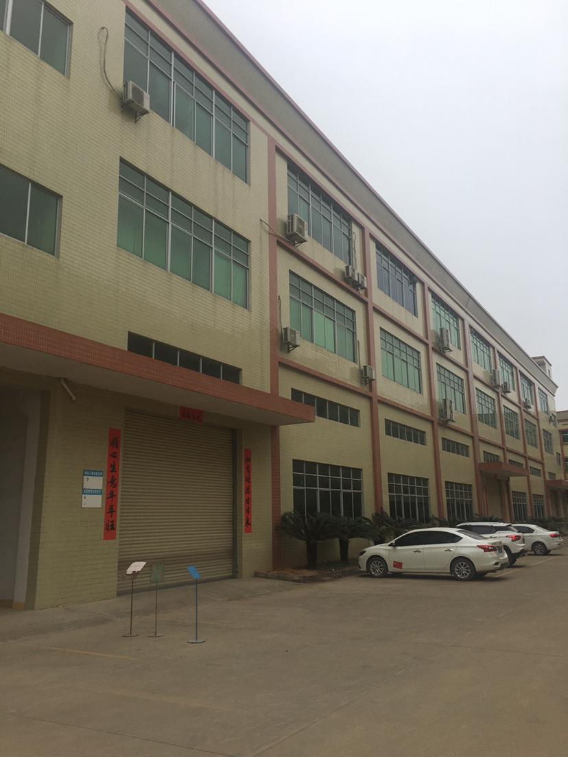 大朗镇新出标准厂房1300平米带牛角有独立办公室配有食堂宿舍