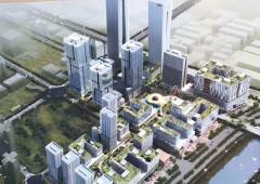 南山深圳湾生态科技园带装修418平办公室出租