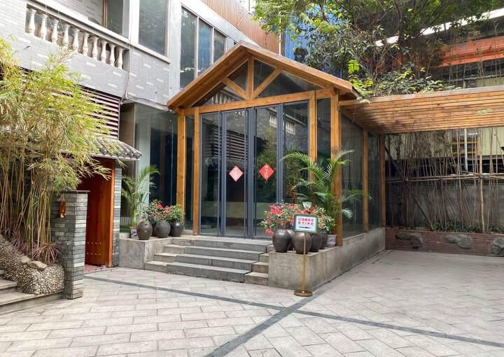 黄埔新出488平写字楼出租大小分租花园式园区车位充足环境佳图片1