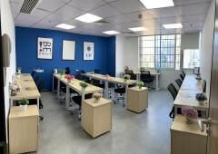越秀区东山口地铁站附近精装小户型15人间独立办公室出租