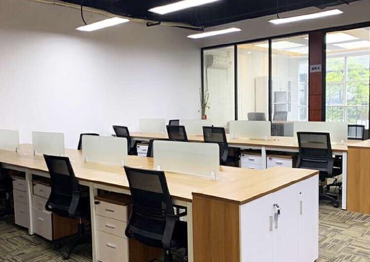 同富裕工业区豪华精装写字楼出租100平起租带空调有7成使用率图片5