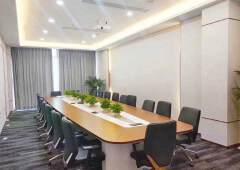 龙岗中心城天安数码城精装修办公室300平业主直租可自由分割