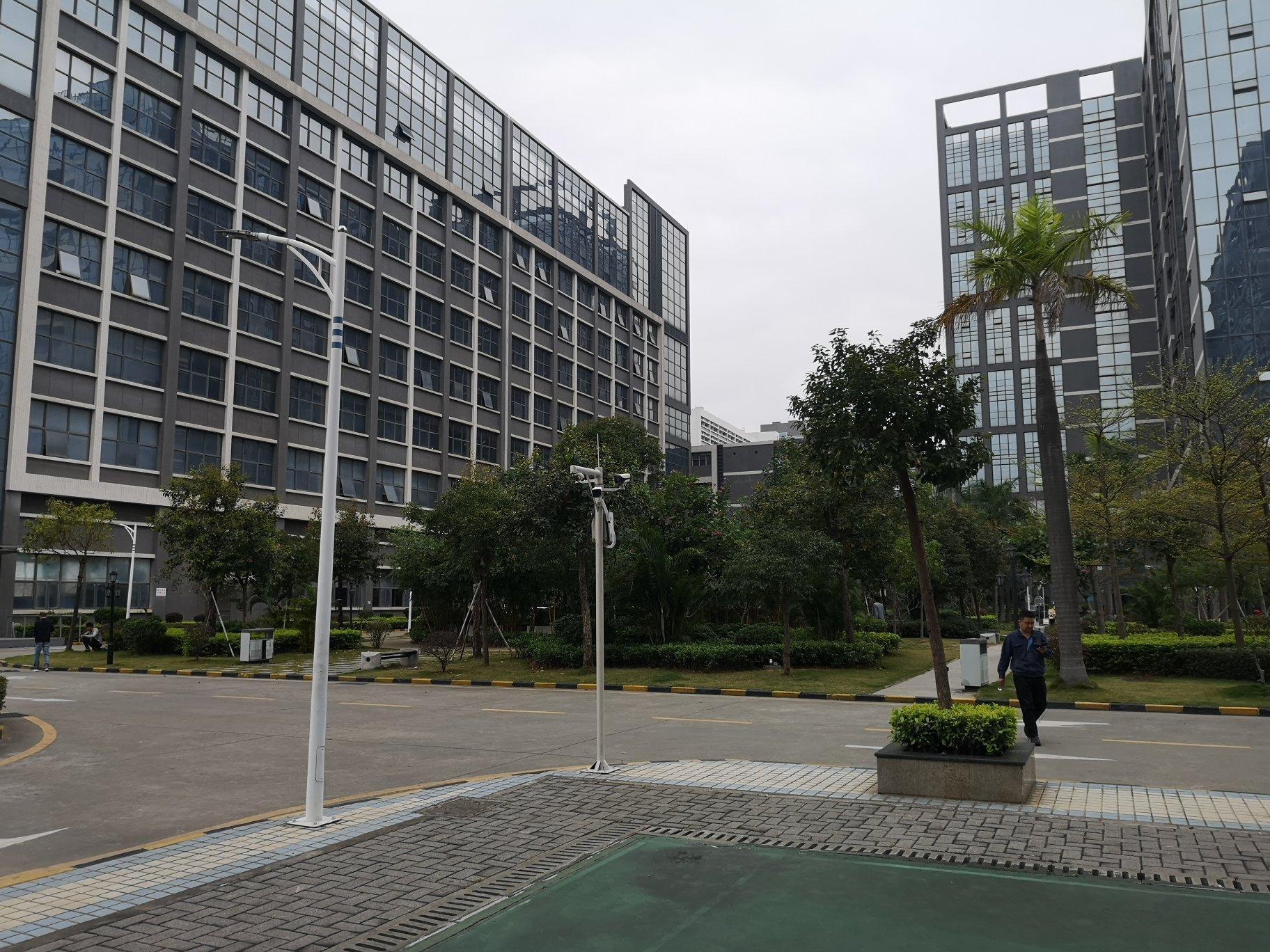 公明高新区红本花园式工业园区楼上带装修厂房出租-图4