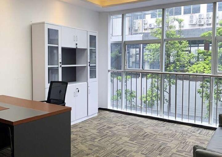 同富裕工业区豪华精装写字楼出租100平起租带空调有7成使用率图片4