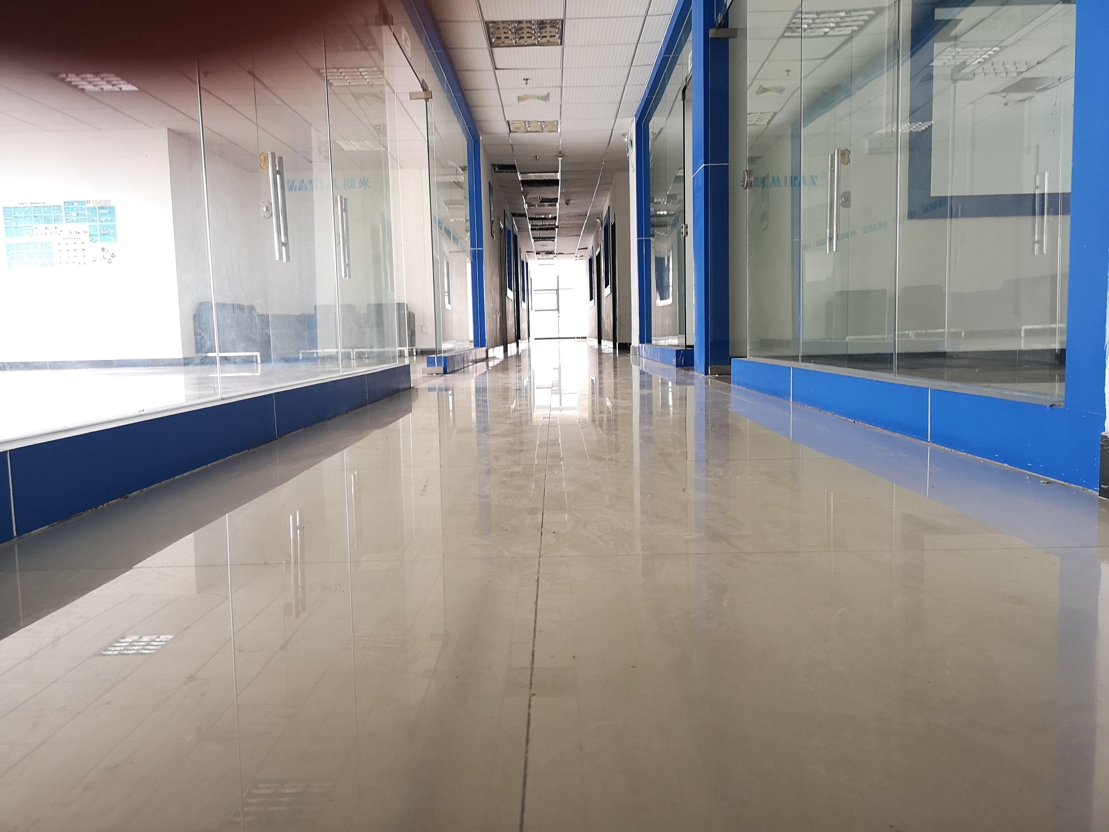 公明高新区红本花园式工业园区楼上带装修厂房出租-图5