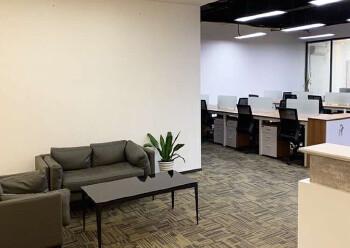 同富裕工业区豪华精装写字楼出租100平起租带空调有7成使用率图片2