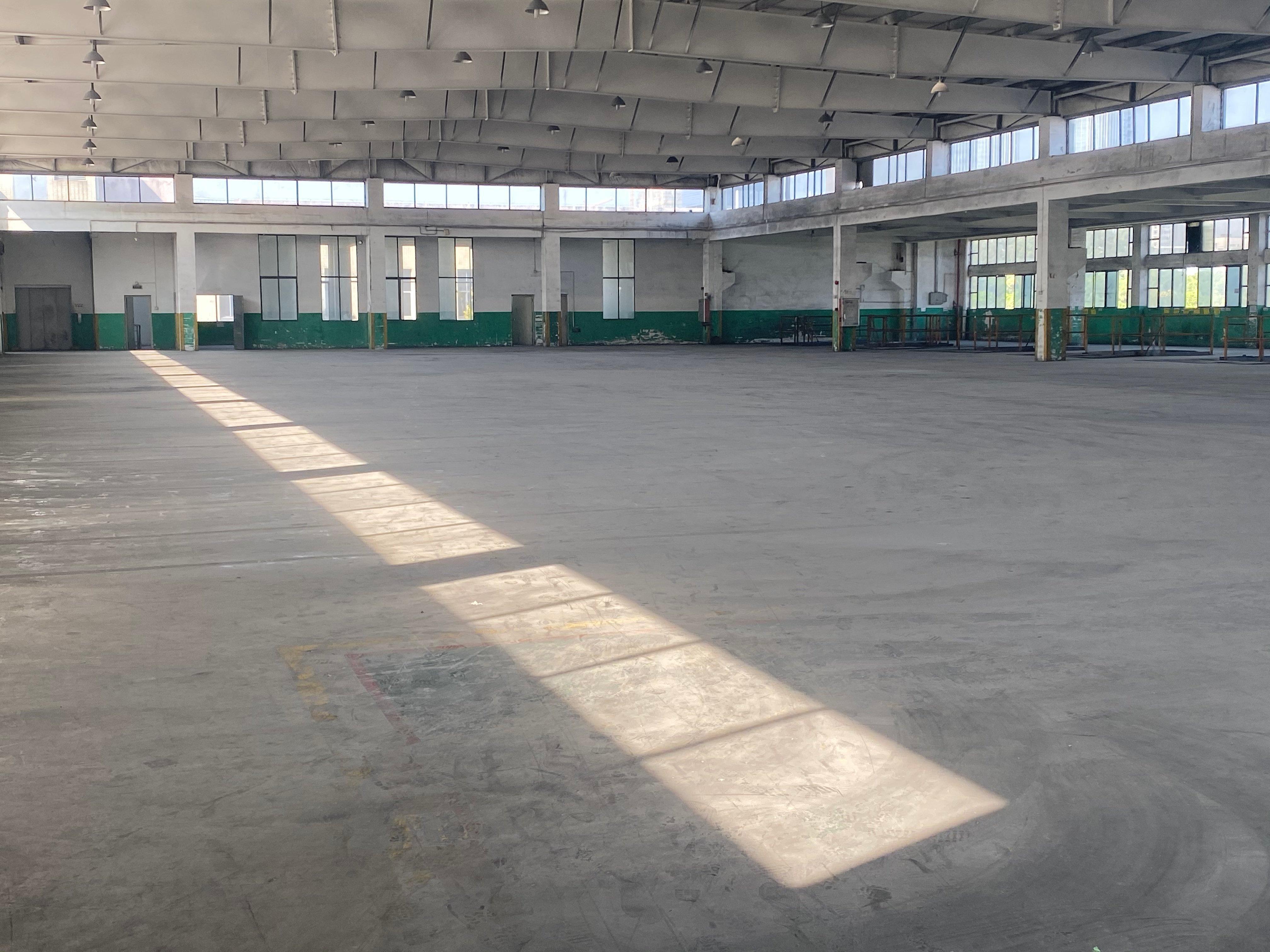 天河区车陂附近单一层厂房仓库7500平出租,可分租
