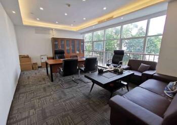 同富裕工业区豪华精装写字楼出租100平起租带空调有7成使用率图片3