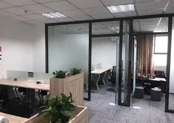 龙华清湖地铁站附近楼上新出一套带全套家私办公室出租图片2