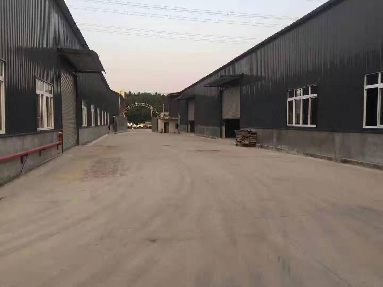 仓库14500平出租金刚石地面方正好用空地大拖车进出方便