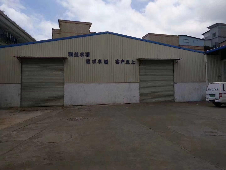 大朗镇新马莲村新出原房东独院单一层钢构厂房1200平方