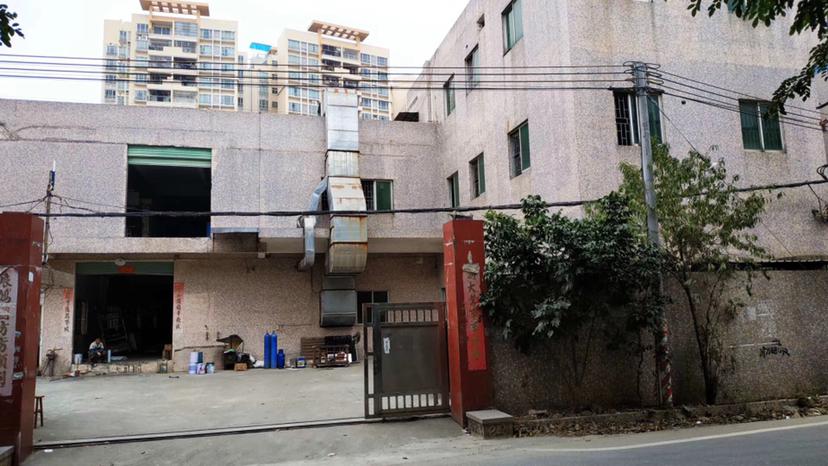 惠阳新圩原房东标准独院3000平方有红本租期长交通便利马路边