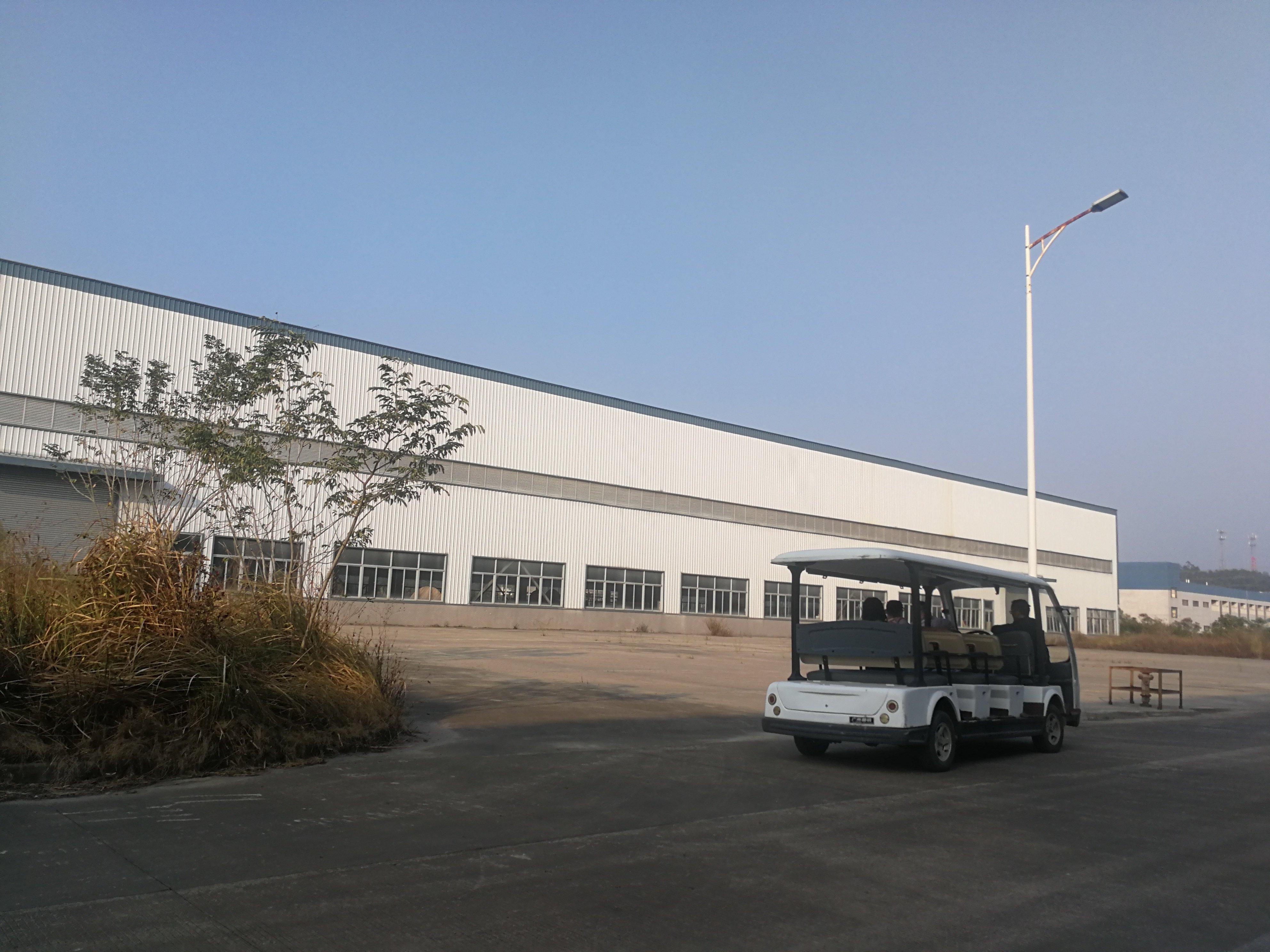 从化区占地70亩建筑26800平米国有证单一层厂房出售
