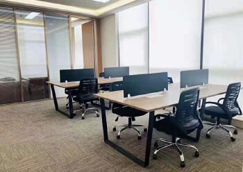 龙岗中心城豪装办公室173平方图片2