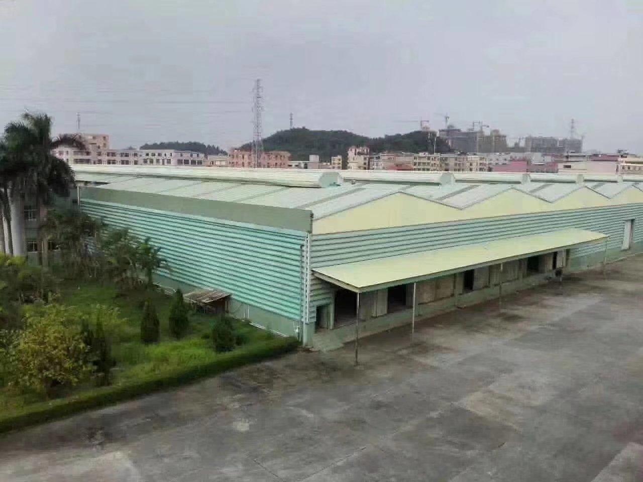 佛山顺德龙江新出单一层钢构厂房16732方,证件齐全可办环评