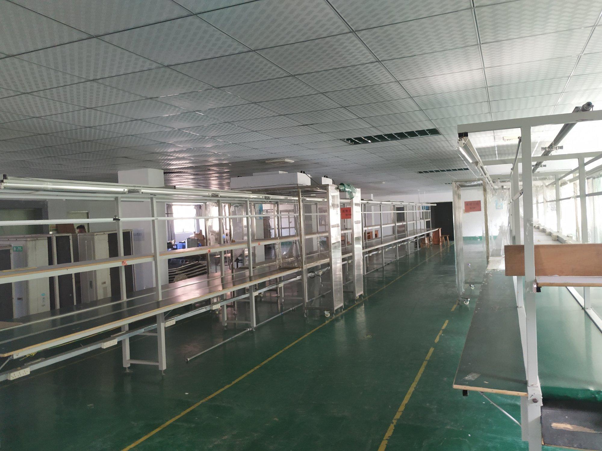 现成装修,惠州惠阳标准厂房2楼整层2150平米出租
