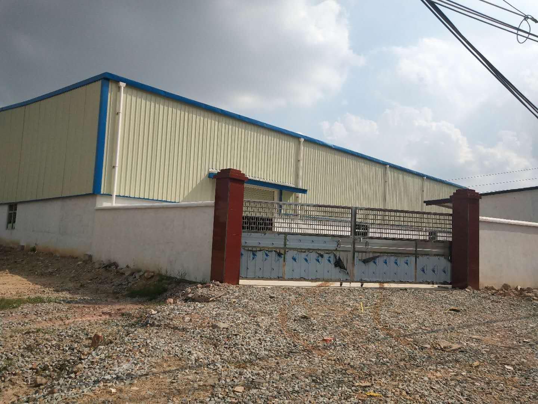 石湾镇原房东独院单一层厂房滴水8米总面积约10000平方出租