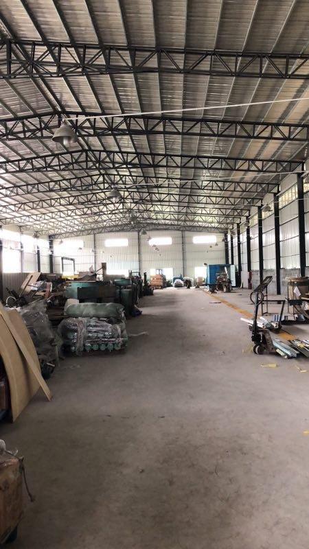 博罗业主自用钢构出让,厂房滴水9.5米