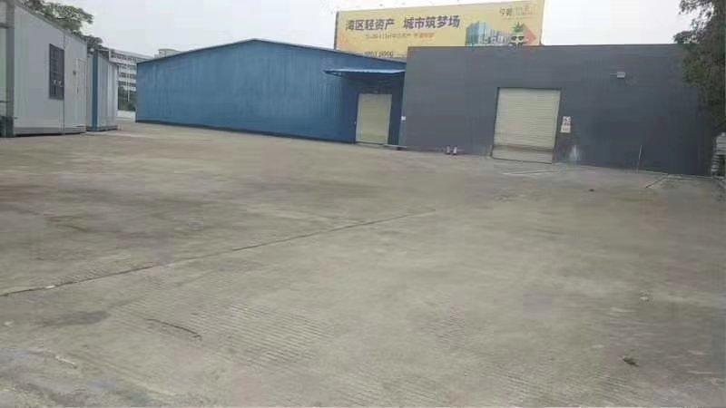 空地超大,东莞厚街简易仓库出租1200方