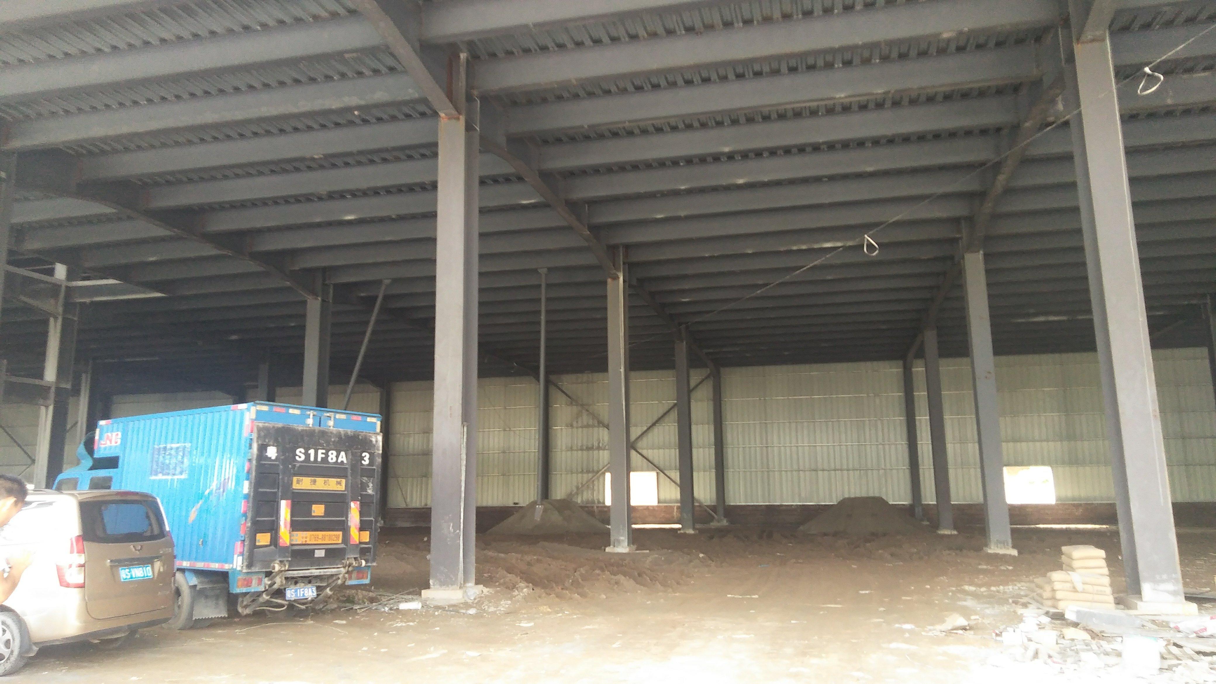 麻涌中堂原房东独院单一层钢构高台仓库