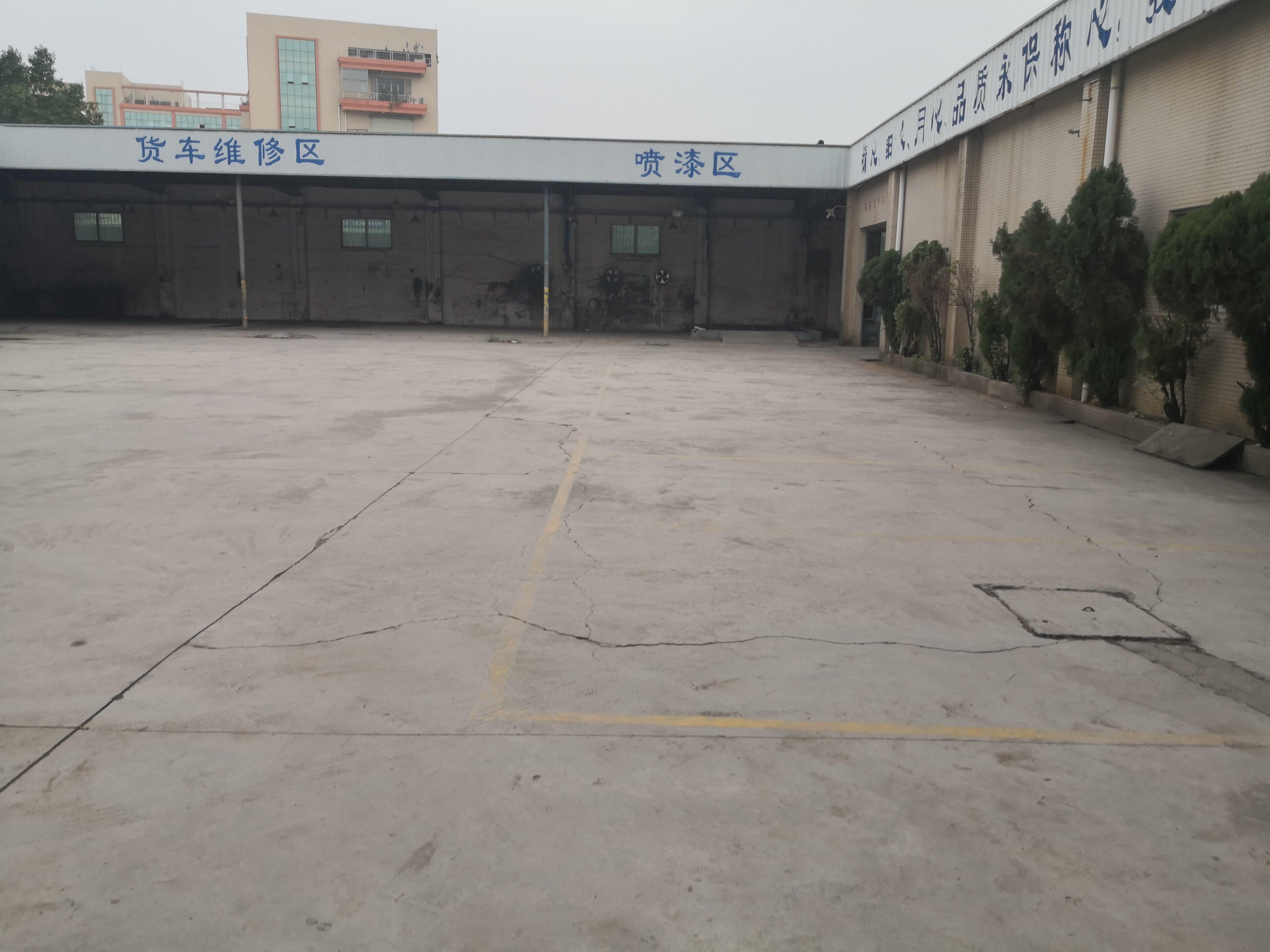 东莞石龙茶山交界处汽修厂1000平方出租