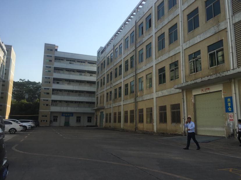 坪山碧岭新出一二楼红本厂房各2500平方可分租可办环评