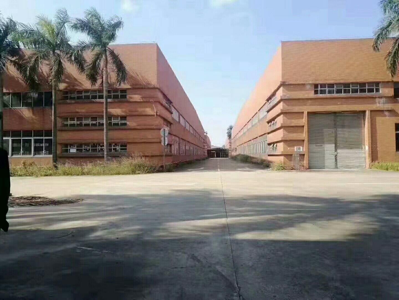 广州市黄埔区近高速路红本双证占地70亩厂房地皮诚心出售
