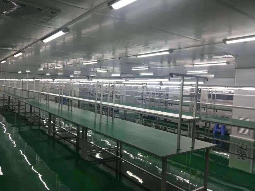 惠州市小金口镇全新装修的无尘车间出租
