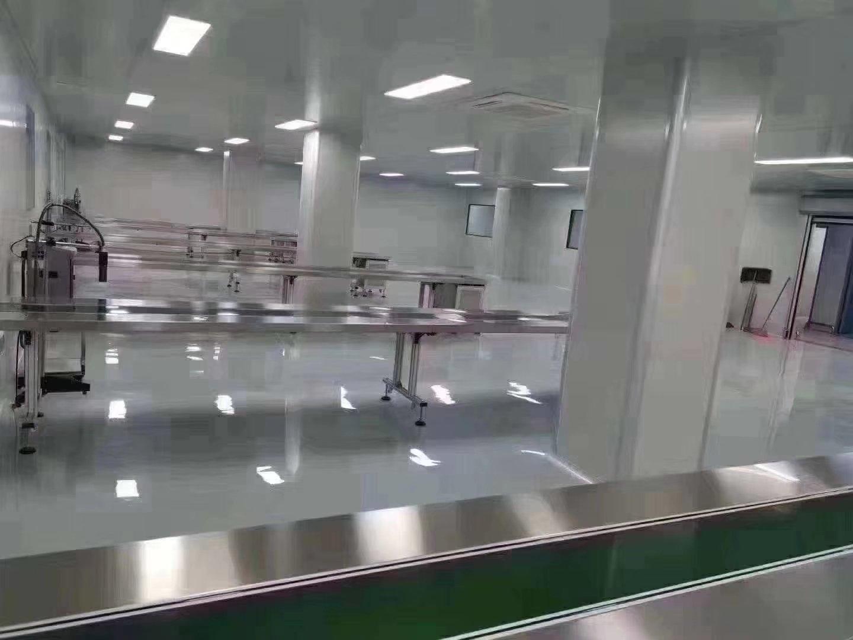 福永新和楼上新出1500平精装修无转让无尘车间出租