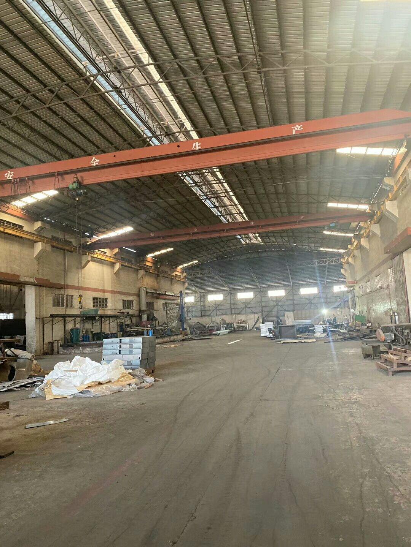 惠州原房东带现成行车独院钢构厂房3100平出租