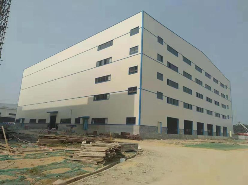 单一层厂房钢结构6000平方米高26米,行业不限,可办环评。
