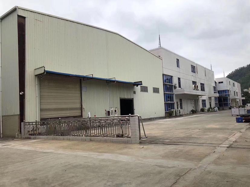 马安镇新湖工业区出租独栋7米高钢钩厂房800平方
