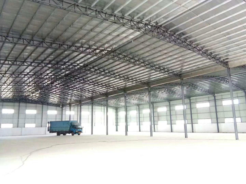 罗阳镇独门独院钢结构厂房出租24000平