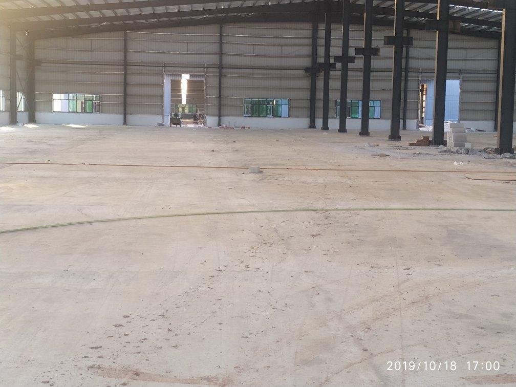 原方东,新建滴水14米钢构厂,证件齐全,超大空地,