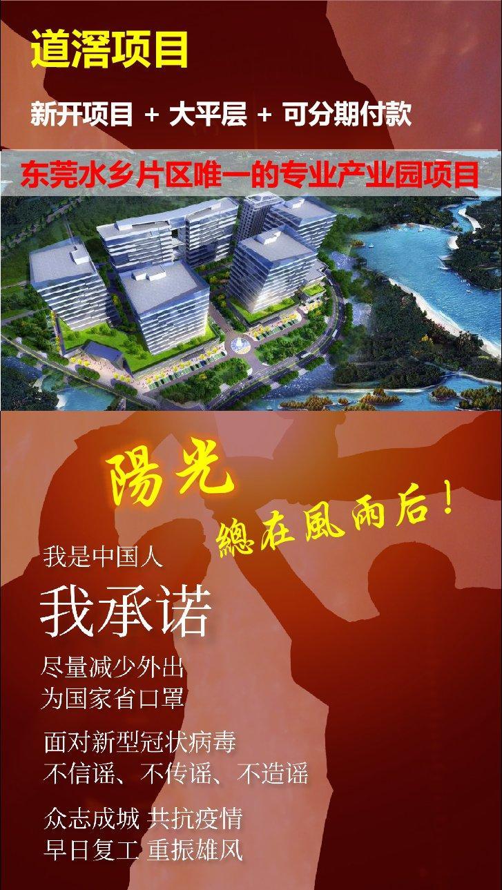 东莞道滘全新项目厂房诚意出售,单价低