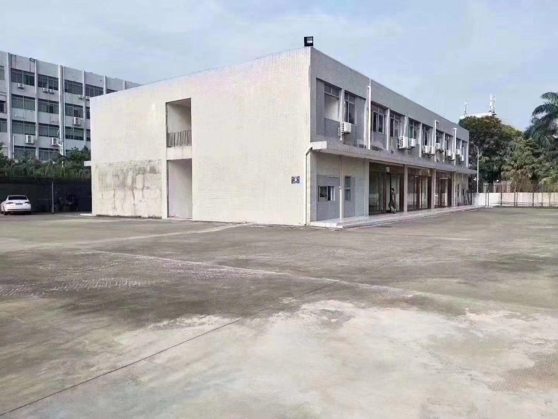 沙井镇和一社区大空地,红本厂房3000平,超长合同可做幼儿园