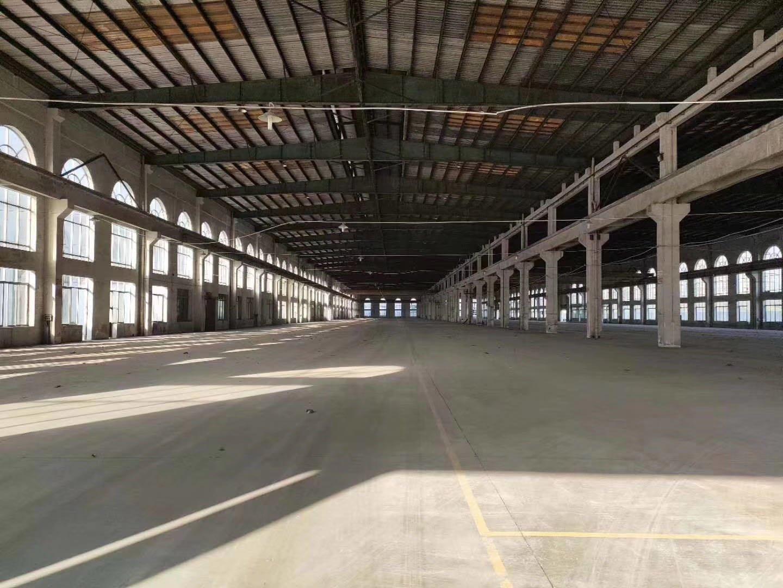 原房东独院单一层钢构厂房14500平高10米实际面积空地大