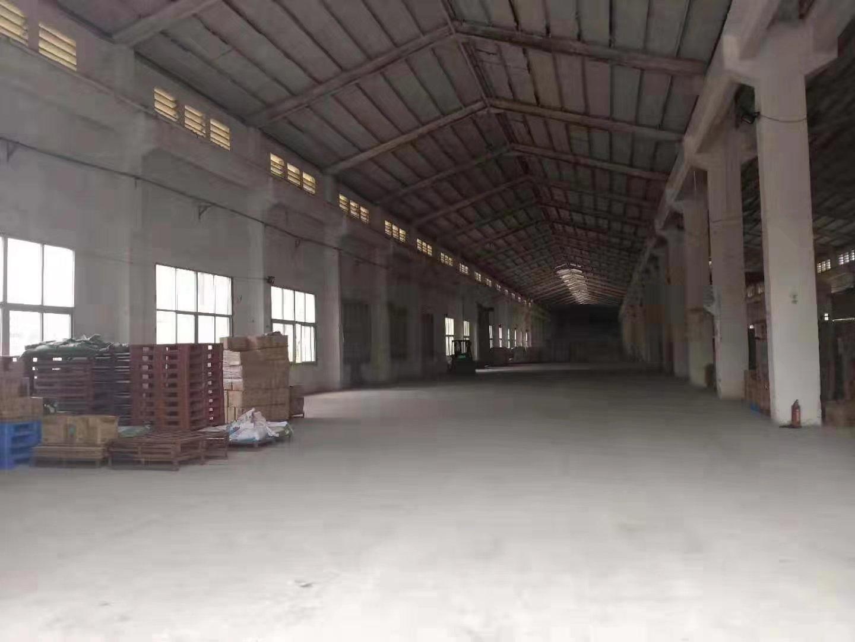 道滘镇独院单一层厂房仓库13500平实际面积租空地大