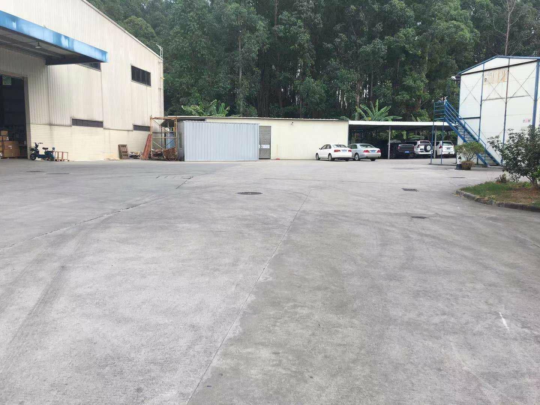 黄埔科学城3350平独栋钢构厂房出租可分租可做生产仓库。