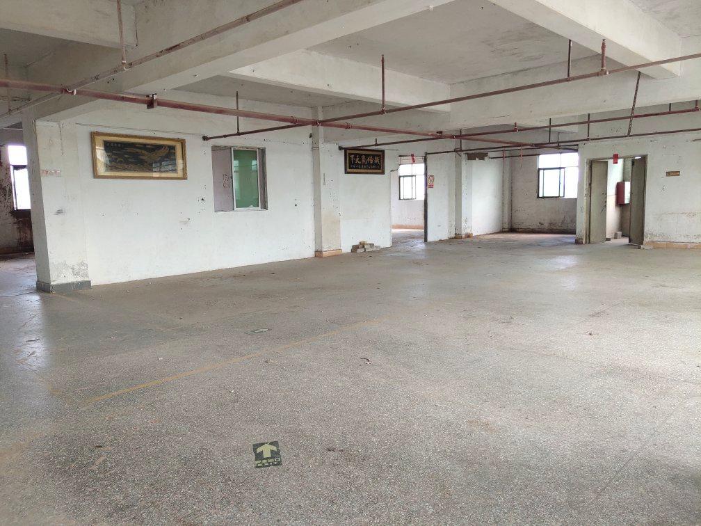 (原房东)惠阳秋长茶园标准楼上1160平方厂房3吨电梯出租