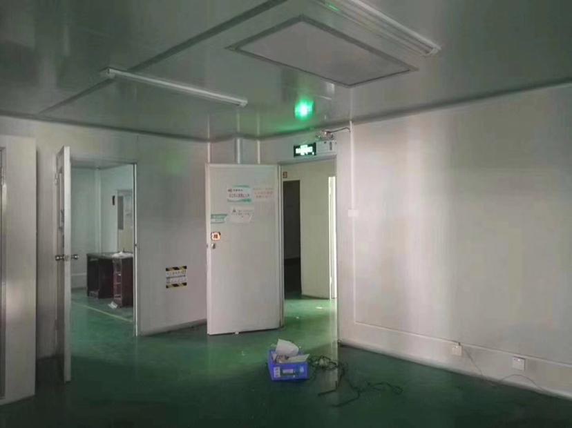 深圳石岩新出2550平十万级无尘车间设施到位易招工