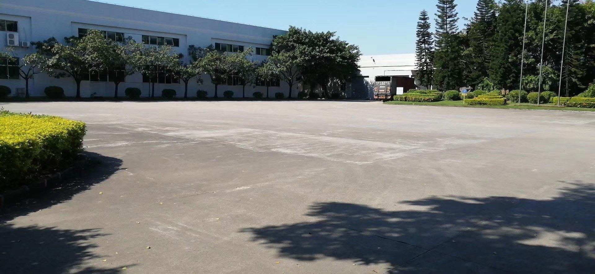 惠州大亚湾钢构厂房3200平空地超大园区漂亮交通方便