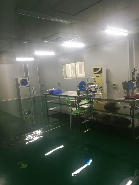 深圳无尘车间1500平,精装修,办公室前台适合做口罩,防护服