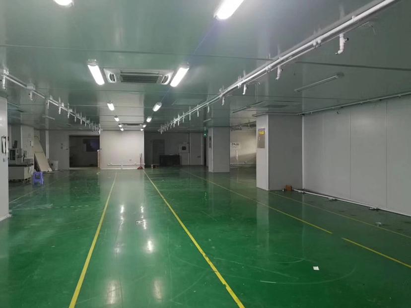 高埗镇工业园楼上无尘车间3500平