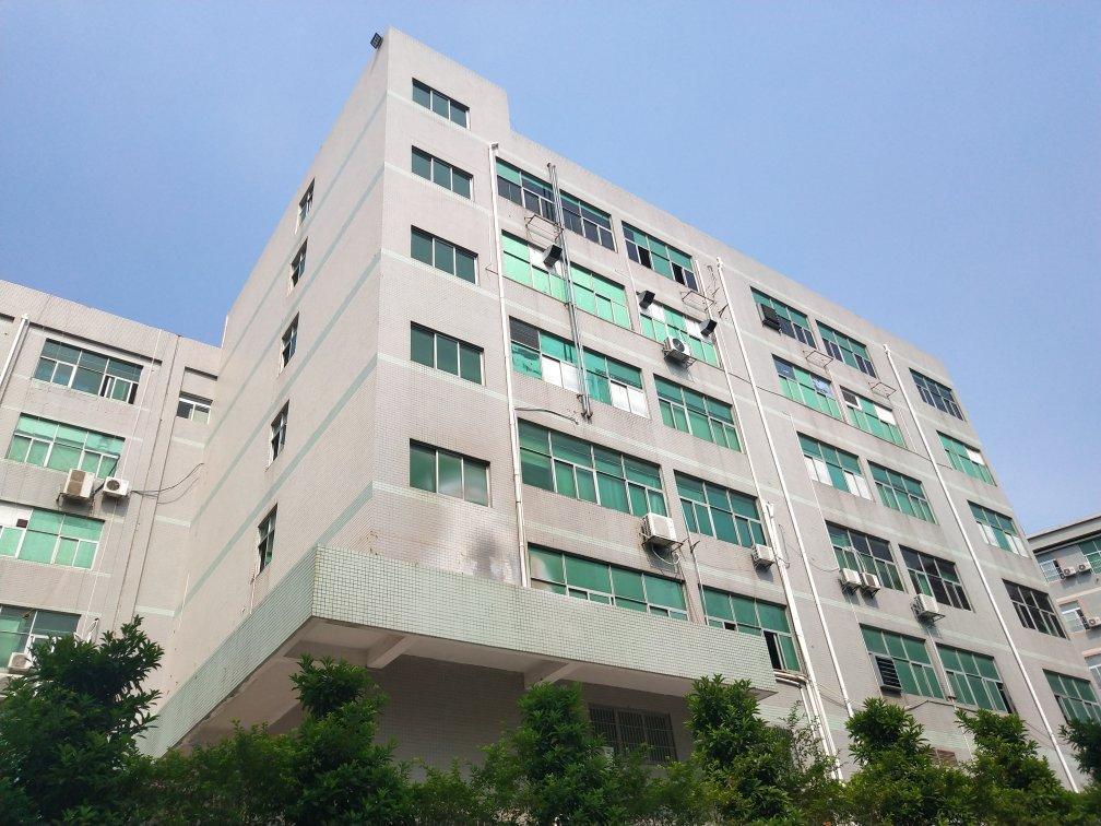 西乡航城大道边上新出楼上三楼1080平厂房出租
