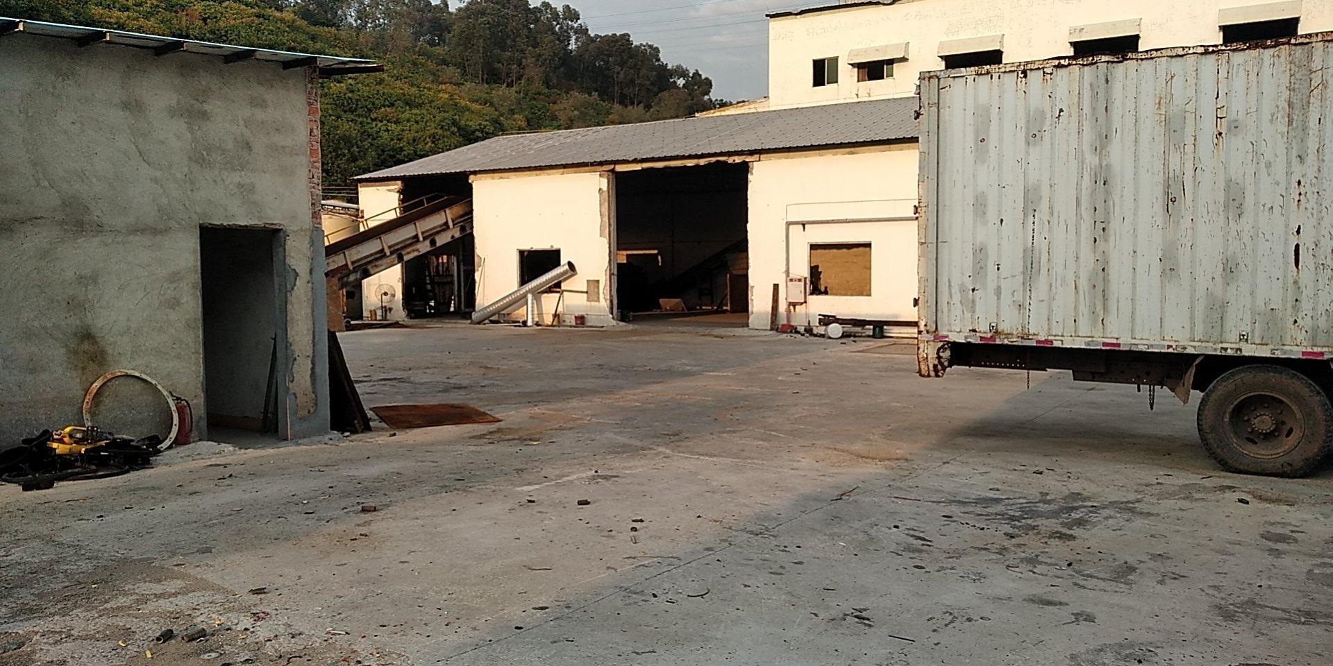 常平超大空地小面积单一层厂房出租