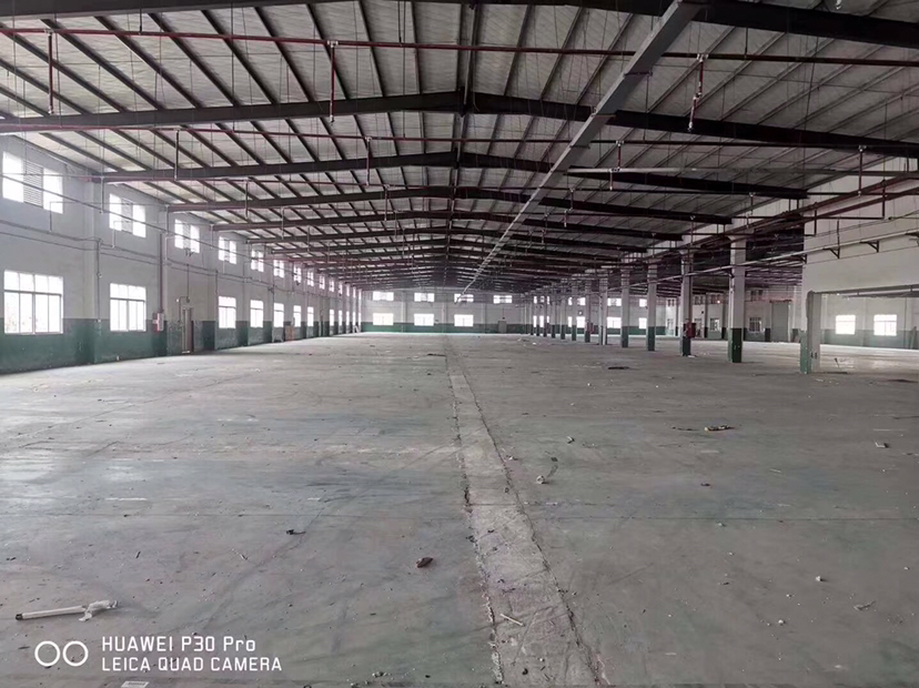 惠州博罗原房东大型工业园6万平招租滴水9.5米空地4万平