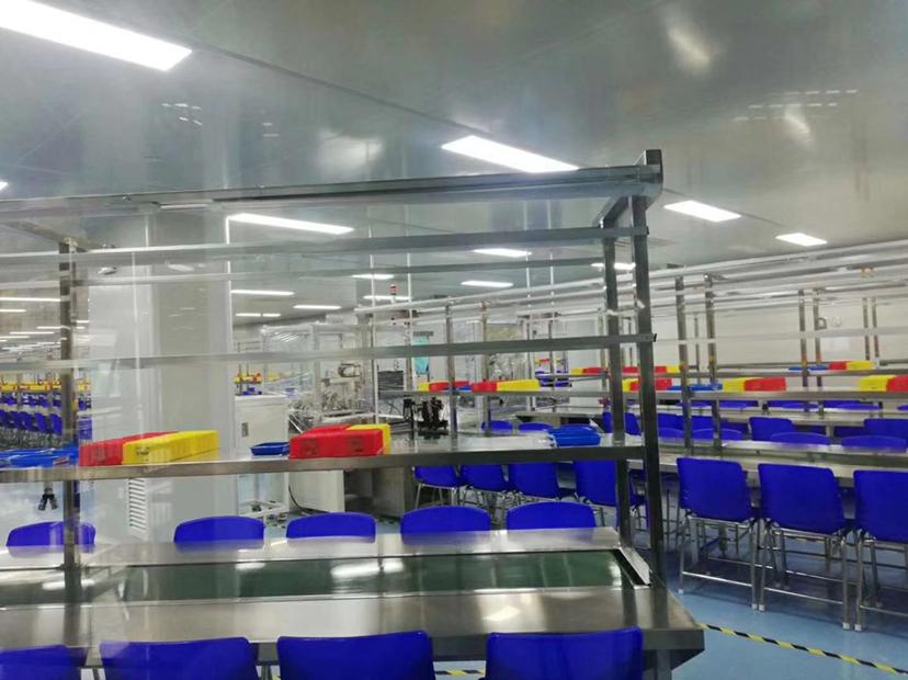 深圳制造业中心共和新出三楼8500平米10万级无尘车间厂房